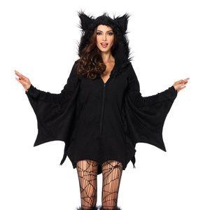 Leg Avenue Women's Black Bat Halloween Costume
